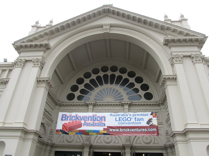Lego Brickvention Melbourne Exhibition Building 2014