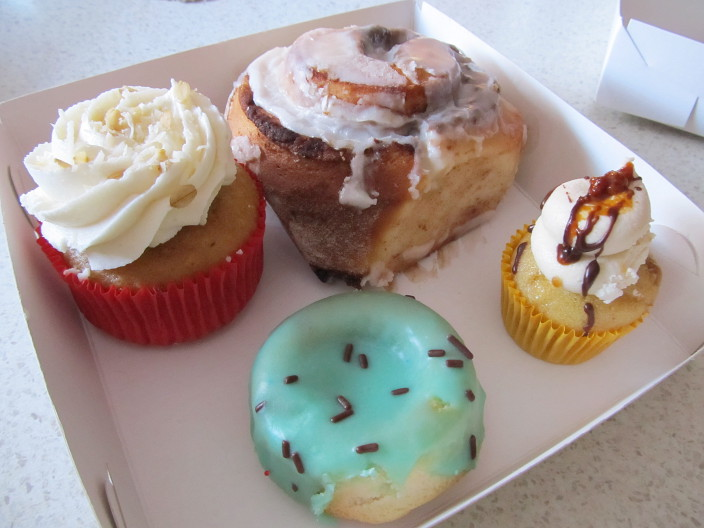 Mr Nice Guy's Bake Shop selection