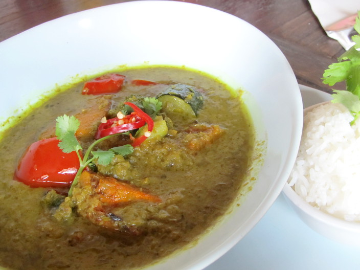 the national hotel thai green curry