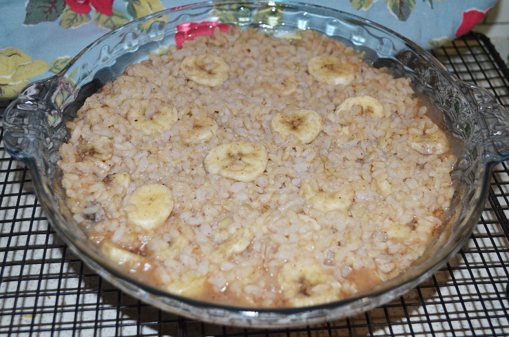 bananabrownricepudding
