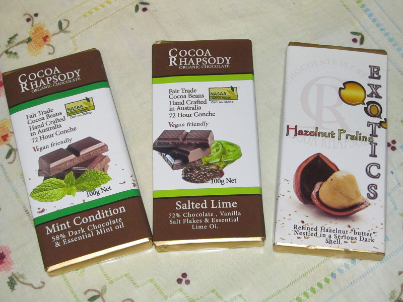 Cocoa Rhapsody chocolate