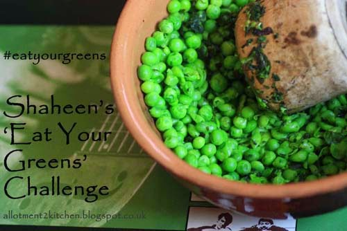 Eat Your Greens challenge logo