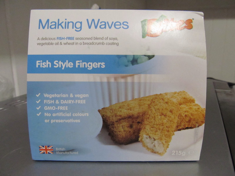 Making Waves fish fingers