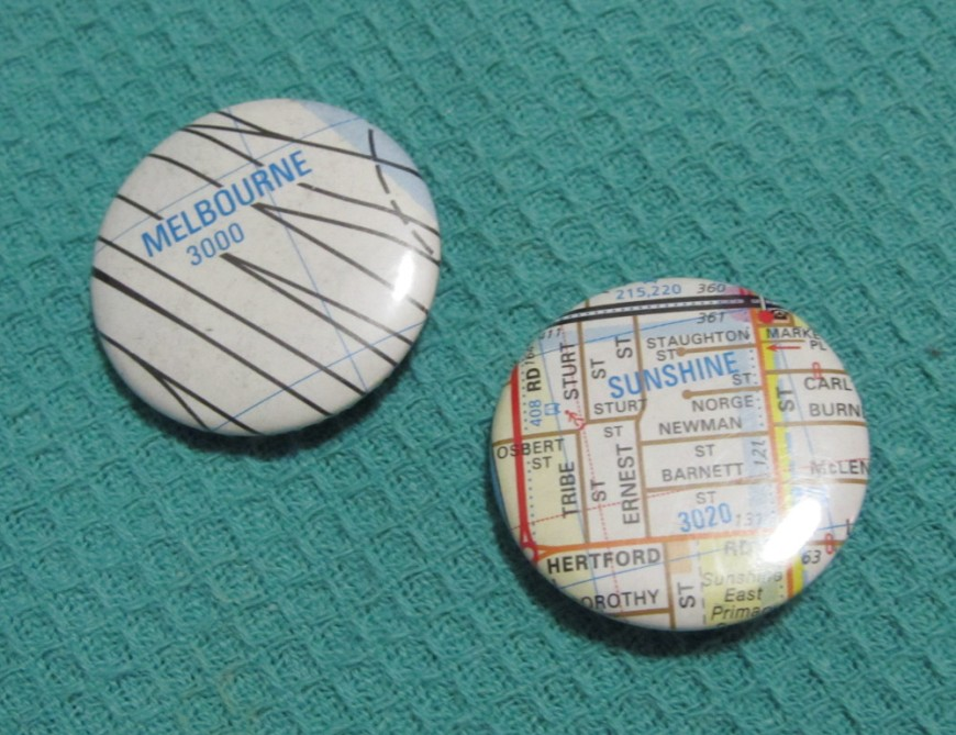 Melways badges