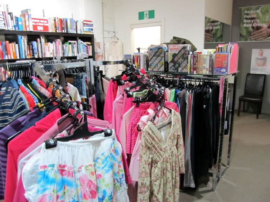 Red Cross op shop Moonee Ponds