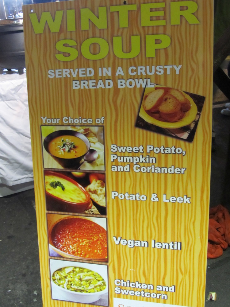 soupin bread bowl stall